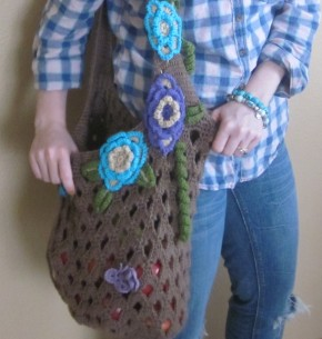 New Pattern: Spring Market Bag